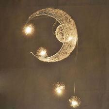 Child Kid Bedroom Pendant Lamp Light Ceiling Kids Moon&Star Children Chandelier