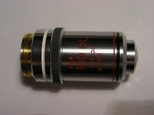 Nikon 100x/1.25 oil. Ph4 DL 160/0.17 Microscope Objective, Zeiss Leitz