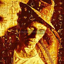 Grande mosaïque photo poster dans différentes couleurs de tom waits no 9