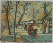 early 1900's oil painting