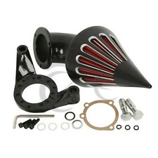 Motor Black Spike Air Cleaner Kits Intake Filter For Harley CV Carburetor V-Twin