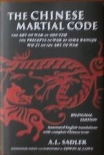 THE CHINESE MARTIAL CODE SUN TZU  SIMA RANGJU  WU ZI  KARATE KUNG FU MARTIAL ART