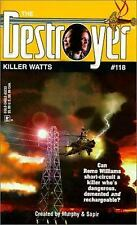 Killer Watts (The Destroyer # 118) - Warren Murphy, Richard Sapir (PB)