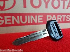 NEW Toyota OEM Master Key Blank 4Runner Hilux Pickup Land Cruiser USA SELLER