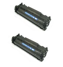 2PK New Toner For HP 12A Q2612A LaserJet 1012 1018 1020 1022 3020 3030 3050 2055