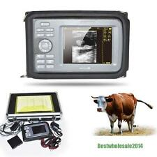 Veterinary Digital Palm Ultrasound Scanner Machine VET Animal + Linear Probe CA