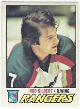 1977-78 OPC HOCKEY #25 ROD GILBERT - EXCELLENT-