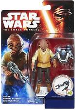 "Star Wars Ep 7 The Force Awakens 3.75"" Inch Figure Admiral Ackbar Very Rare! HTF"