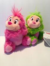 Disney Store Japan Pink & Green Hedgehog Plush Curious Garden New With Tags