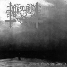 Obscuro - Where Obscurity Dwells CD,SWEDEN BM,HORNA