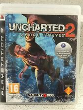 UNCHARTED 2 AMONG THIEVES. JEUX PS3 AVEC NOTICE PLAYSTATION