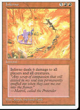MAGIC THE GATHERING 4TH EDITION RED INFERNO