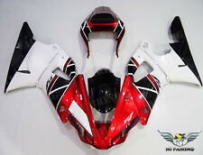 NT Red White ABS Injection Fairing Body Kit Fit for Yamaha YZF R1 2000-2001 e023
