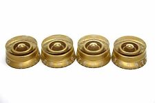 4x GOLD SPEED KNOB FOR GIBSON EPIPHONE STYLE - CTS OR BOURNS