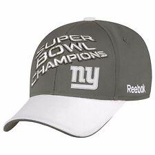 REEBOK NEW YORK GIANTS SUPER BOWL 46 XLVI LOCKER ROOM HAT CAP CHAMPIONS NFL