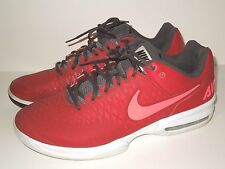 NIKE AIR MAX CAGE DRAGON MEN'S ATHLETIC RUNNING SHOES, BURGUNDY SIZE 12.5  EUR-4