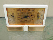 Art Deco Taylor Instruments Co.Stormoguide Weather Station Bakelite Barometer