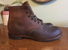 Red Wing for J.Crew Beckman Boots Men's Size 11D Brown