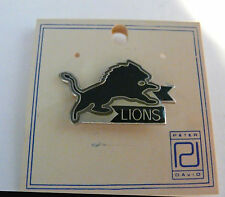 Pin Detroit Lions Lapel Hat  NFL Football New Very Nice Quality Peter David