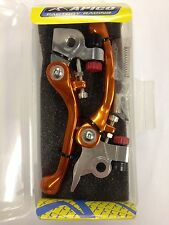 KTM  SX 125  SX 150  2016-2017    FLEXI  FLEXIBLE LEVER LEVERS SET  ORANGE