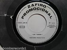 "LOS TAMARA el color de la noche 7"" single 1968 zafiro Spain PROMO (vg++) 4"