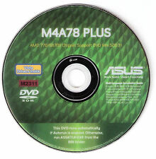 ASUS M4A78 PLUS Motherboard Drivers Installation Disk M2311
