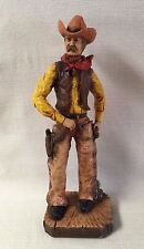 "Vintage Universal Statuary Corp Chicago 1976 17"" Tall Cowboy Figure Kendrick"