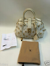 Authentic with receipt Louis Vuitton M95409 Bowly Polka Dots Panama Handbag