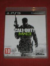 CALL OF DUTY MODERN WARFARE 3 - MW3- Le Jeu PS3/PlayStation Complet