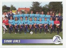 N°570 EQUIPE TEAM # BELGIQUE SINAAI GIRLS STICKER PANINI FOOTBALL 2011