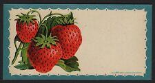 Etikett für Konservendose  Marmelade  Konfitüre - Deutschland - ca. 1935 # 1454