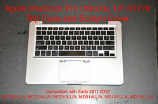 "Apple MacBook Pro UniBody 13"" A1278 Top Case & Bottom Cover Mid 2011 2012"