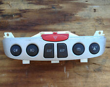 Fiat Punto WINDOW SWITCH 1999-2003 centre console switches panel SILVER