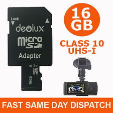 16GB TF Flash Micro SD SDHC Class10 Memory Card for HD Car Vehicle Dashboard cam