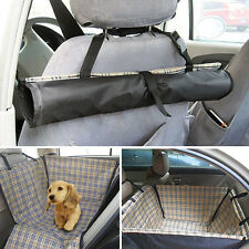 1pc Pet Car Rear Seat Cover Hammock Pad Cat Dog Protector Mat Blanket Waterproof