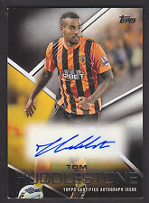 Topps Premier Gold 2014 - Autograph Card - Tom Huddlestone - Hull