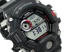 Casio G-Shock Mens Wrist Watch Rangeman GW9400-1 GW-9400-1 Black Multiband 6 New