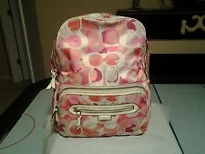COACH DAISY KALEIDOSCOPE BACKPACK HANDBAG. STYLE  F24366
