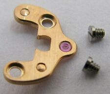 Omega 561 Watch movement part anchor / pallet bridge & screws