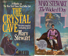 Complete Set Series - Lot of 5 Merlin / King Arthur Books by Mary Stewart