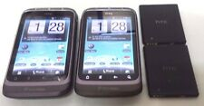 Lot of 2 HTC Wildfire S Gray 2GB (U.S CELLULAR) Power Button Press Hard To Work
