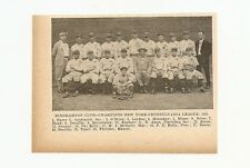 Binghamton Triplets 1929 Team Picture Mike McNally RARE
