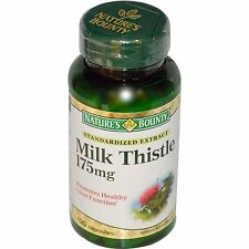 Natures Bounty Milk Thistle 175 mg Capsules 100ct