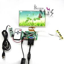 "HDMI VGA Control Board + 7"" Inch TFT LCD Monitor + Touch Screen For Raspberry Pi"