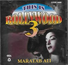 THIS IS BOLLYWOOD 3 - MARATAB ALI - NEW REMIX SOUND TRACK CD