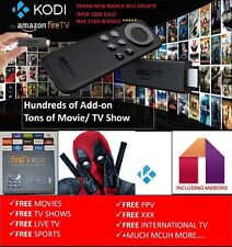 Amazon Fire Stick KODI 16.1 FULLY LOADED ✅ MOVIES ✅ TV SHOWS ✅ SPORTS ✅ MOBDRO