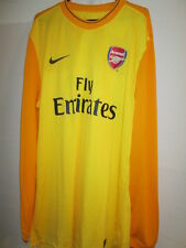 Arsenal 2009-2010 Player Issue Goalkeeper Football Shirt Size XXL BNWT /14020