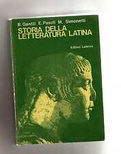 storia della letteratura latina - gentili-pasoli-simonetti - box1septimus