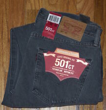 LEVIS LEVI'S 501 Ct Mens Button Fly Denim Jeans 32X32 $79.50 Free Shipping Gray