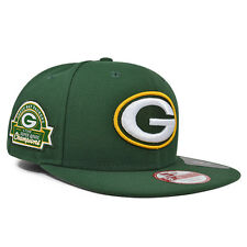 Green Bay Packers 4x CHAMPIONS TITLE DEALER SNAPBACK 9Fifty New Era NFL Hat